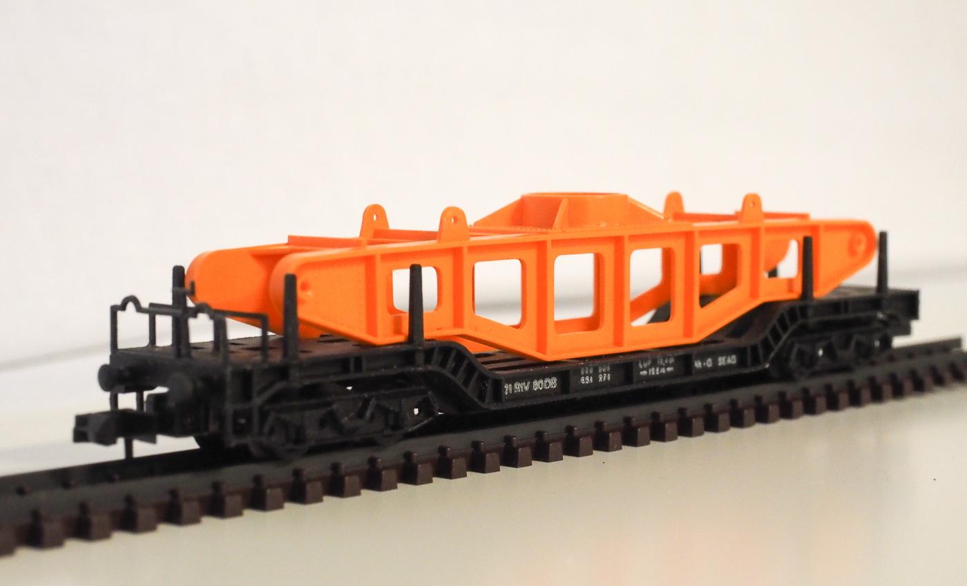 vierachsige Güterwagen