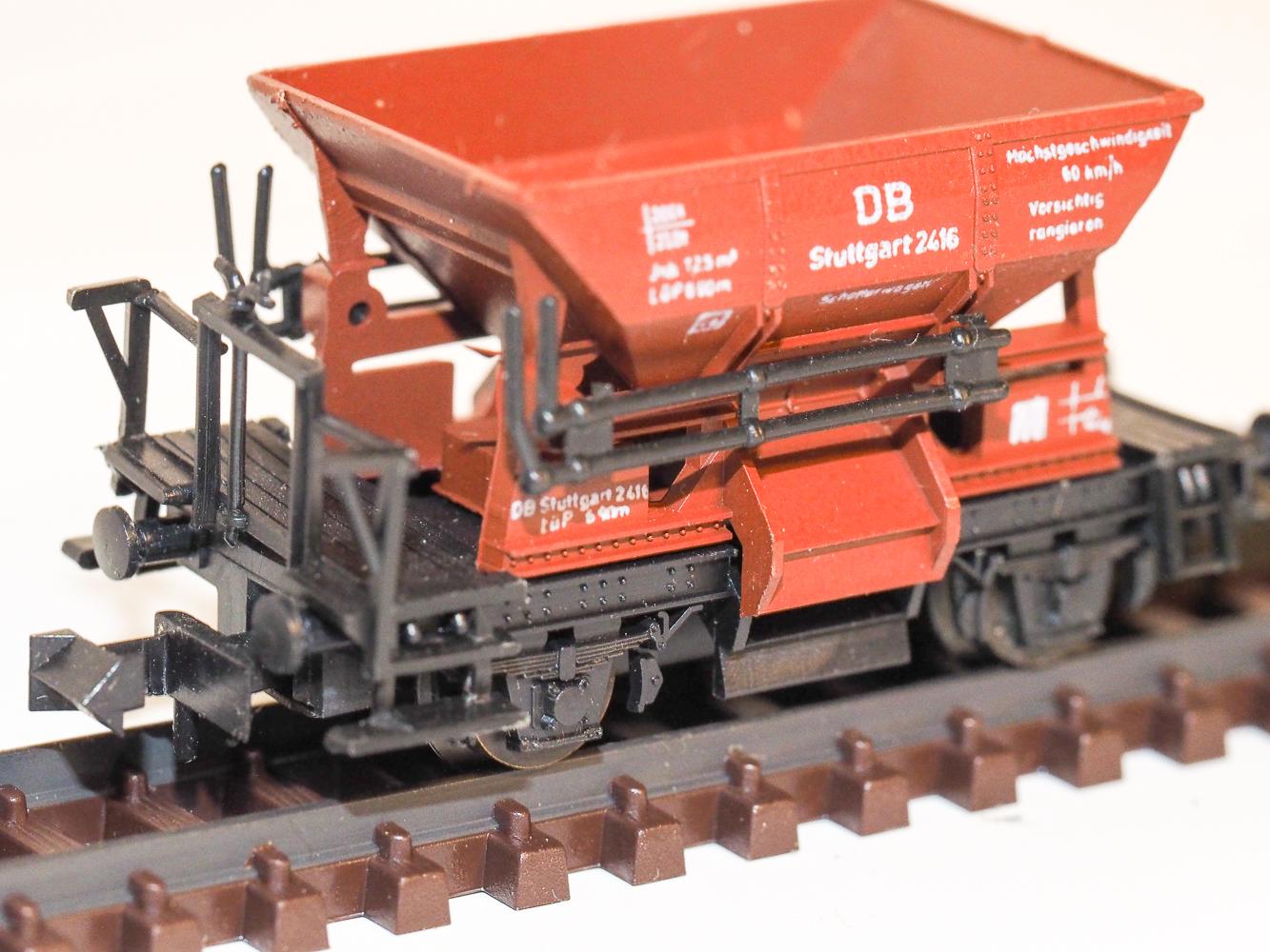 zweiachsige Güterwagen